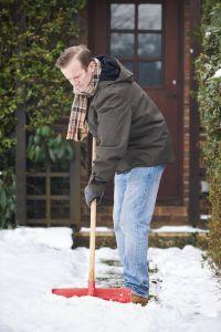 Winter chores at home